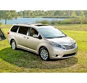 2017 Toyota Sienna Ground Clearance Specs View