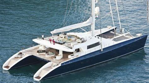 catamaran to sail around the world hemisphere is the world s largest sailing catamaran