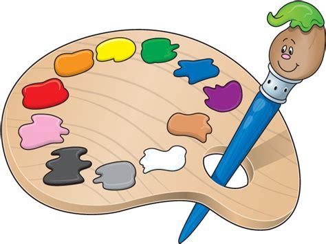 paint colors clipart artist palette template clipart best
