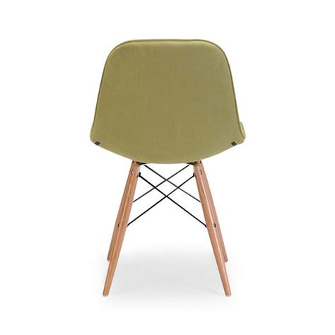 contemporary green velour dining chair z 155 modern chairs