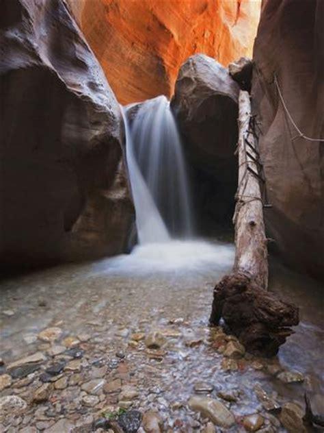 usa utah slot canyon waterfall kanarra creek photographic