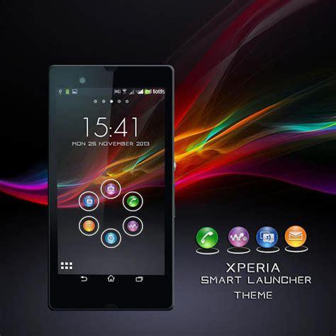 themes smart launcher mobile9 xperia z smart launcher theme download xperia z smart