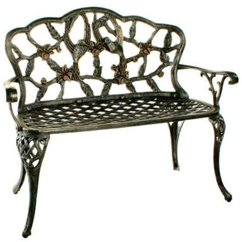 hummingbird garden bench oakland living hummingbird loveseat patio bench 3206 ap