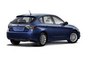 2009 Subaru Impreza Hatchback 2009 Subaru Impreza Trim Information Cargurus