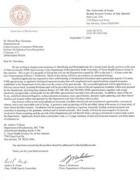 Sample Recommendation Letter For Postdoc Position   how