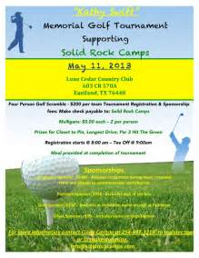 golf flyer template kathy memorial golf tournament may 11