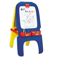 kids magnetic easel crayola magnetic double sided easel dry erase board