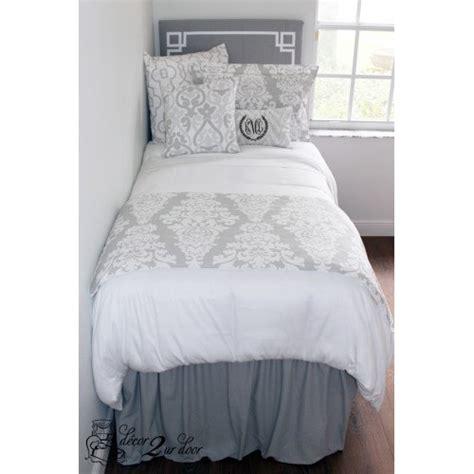 dorm room bed skirts solid grey dorm room extended length 32 drop bed skirt