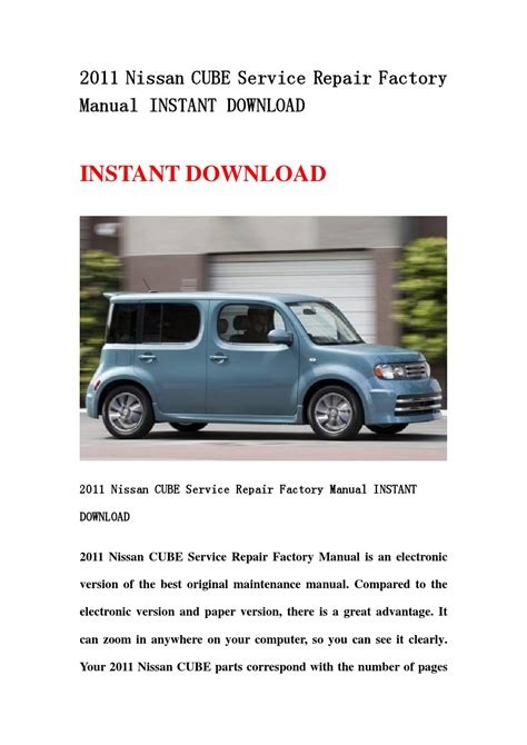 car maintenance manuals 2011 nissan cube electronic toll collection service manual pdf 2011 nissan cube transmission service repair manuals service manual pdf