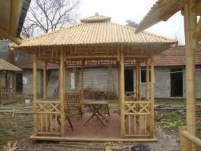 Bamboo Gazebo Plans by Bamboo Hut Bamboo Gazebo Gazebo Bamboo Hut Bamboo
