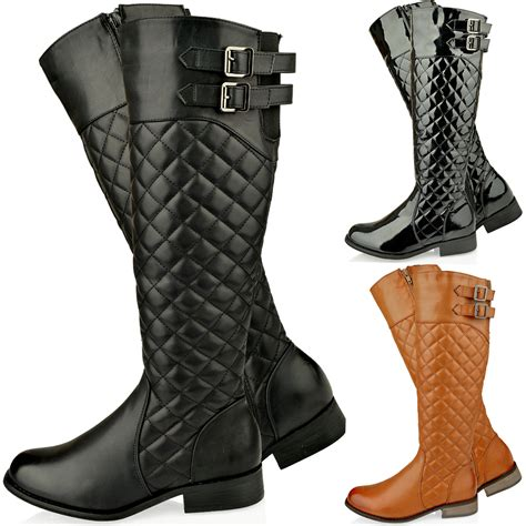knee high boots for choosing flat boots