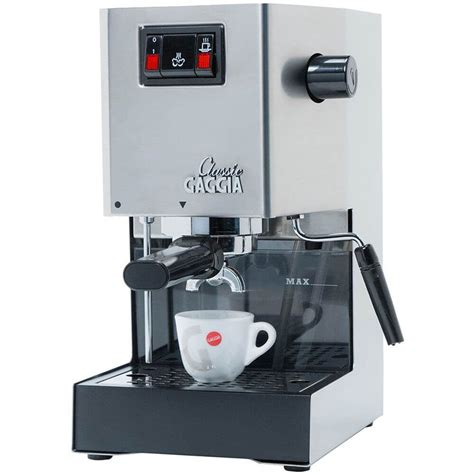 Coffee Maker Gaggia gaggia classic brushed stainless steel semi automatic