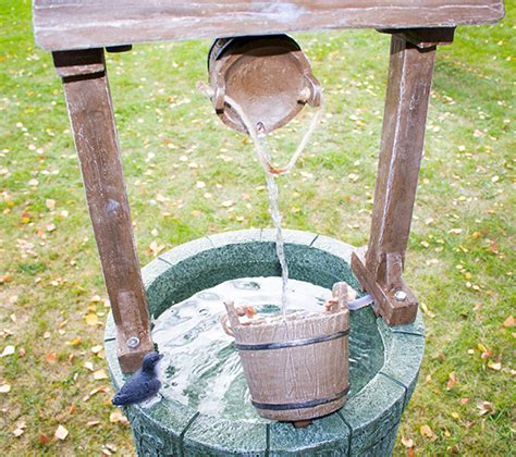 tenby wishing well water feature h91cm by ambient 233 163 89 99