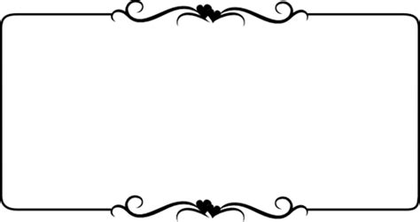 Wedding Designs Clip Png by Corner Wedding Designs Clipart Best