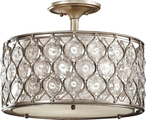 murray feiss ceiling lights murray feiss sf289bus lucia contemporary semi flush mount