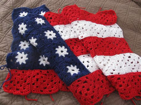 crochet pattern us flag 1000 images about crochet 4th of july on pinterest