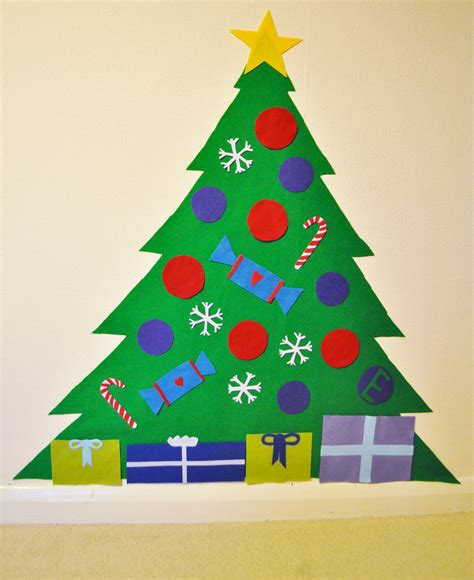 play felt christmas tree tutorial gembelina