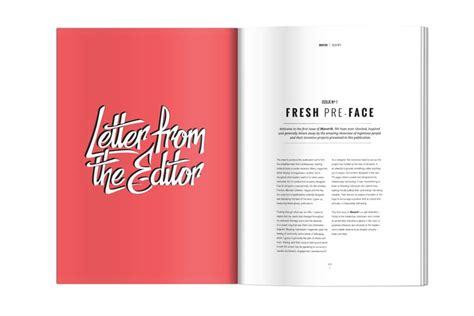 letter design editor editor letter design google search magazine layout