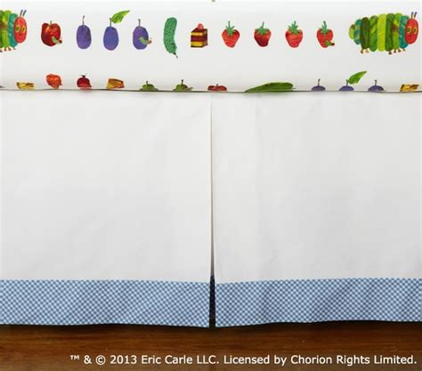 Eric Carle Crib Bedding The Hungry Caterpillar Nursery Bedding Set Pottery Barn