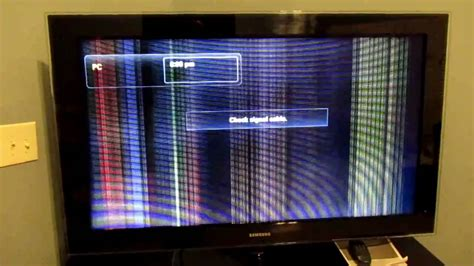 samsung tv color problems samsung lcd tv problems