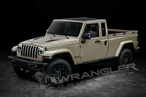 jeep truck will the jeep wrangler pickup look like this motor trend