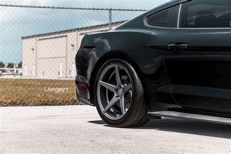 black and mustang gt black mustang gt velgen wheels classic5 matte gunmetal