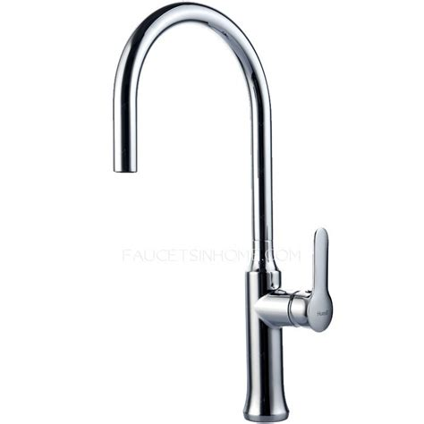 Used Kitchen Faucets Modern High Arc Designed Pullout Spray Kitchen Faucet