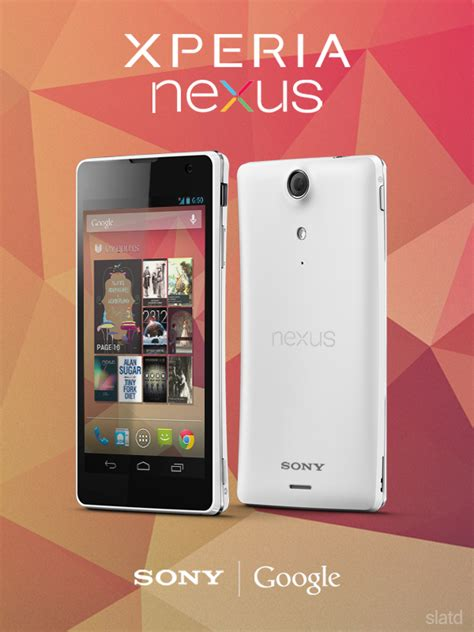 sony nexus sony xperia nexus concept phone spotted based on xperia tx