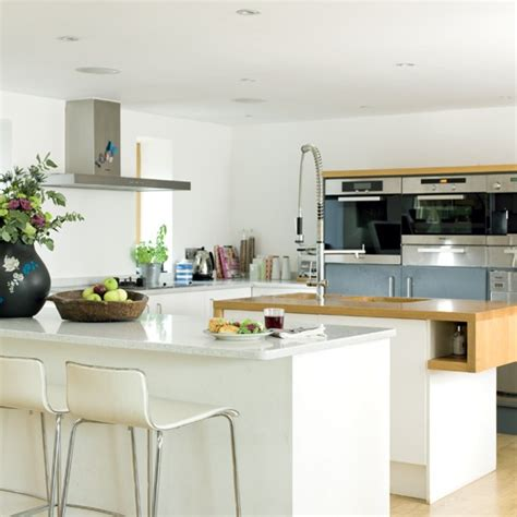Kitchen Unit Ideas Modern Island Unit Kitchens Kitchen Ideas Image Housetohome Co Uk