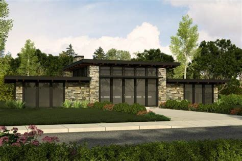 home design diamonds black house plan one story small modern home plan