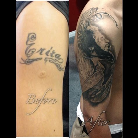 tattoo cover up designs for names cover up name bob marley tattoos by nilson