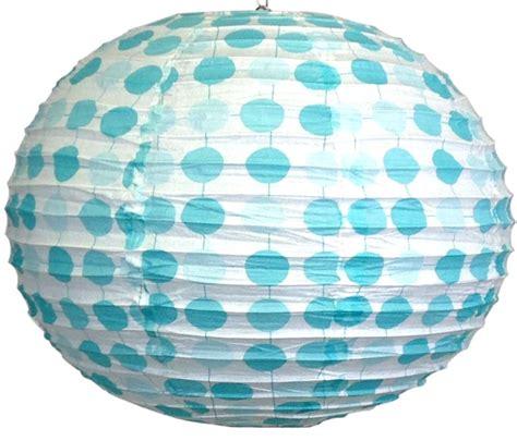 Polka Blue Bergo Busui Ay 16 quot blue polka dots japanese paper lantern