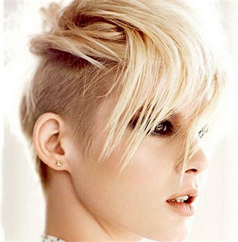 how to style half shaved haircut for women short shaved hairstyles for women