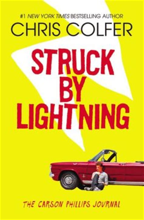 lightning struck brothers maledetti books struck by lightning the carson phillips journal by chris