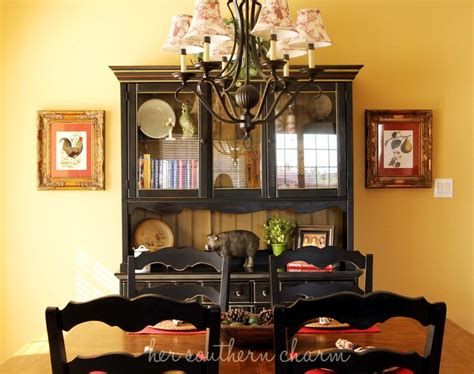 Provincial Dining Room Hutch Country Dining Room I Need The Hutch If