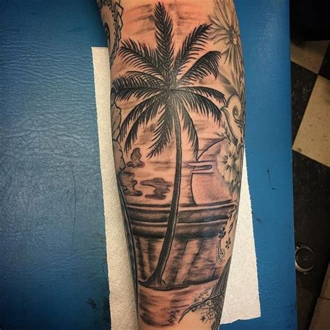 florida tattoo ideas 120 best palm tree designs and meaning ideas of