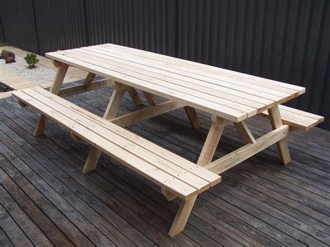 picnic tables plans australia picnic tables made wooden outdoor tables made from
