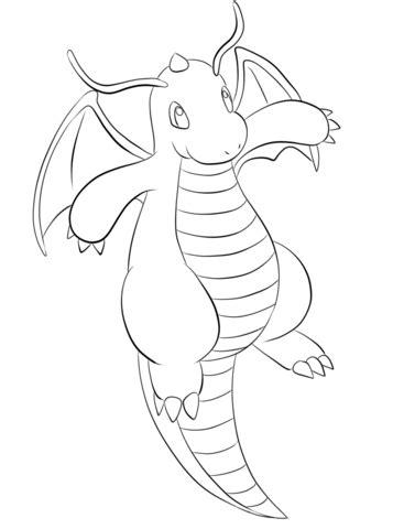 pokemon coloring pages rhyhorn dragonite m 229 larbok gratis m 229 larbilder att skriva ut