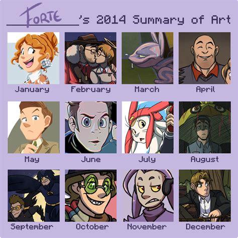 Memes Of 2014 - meme 2014 summary of art by forte girl7 on deviantart