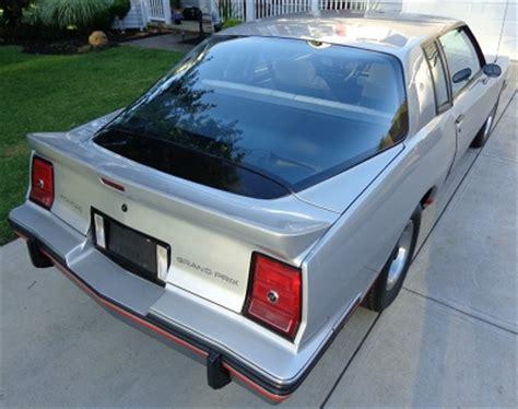 1986 pontiac 2+2 the production nascar grand prix old