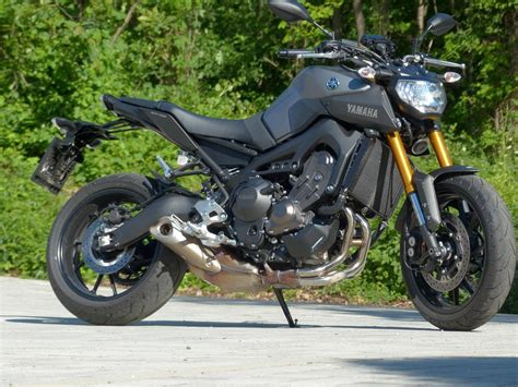 Motorrad Yamaha Mt 09 by Yamaha Mt 09 2016 Test Motorrad Fotos Motorrad Bilder