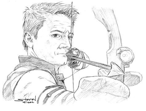 avengers coloring pages hawkeye the avengers hawkeye by stevenwilcox on deviantart