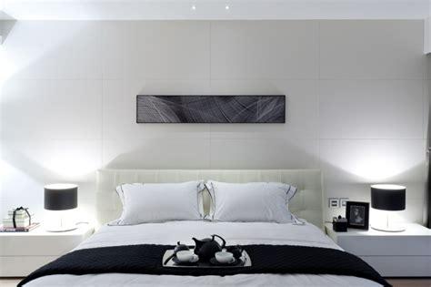 Minimalist Bed d 233 co chambre parentale 50 id 233 es inspirantes ideeco