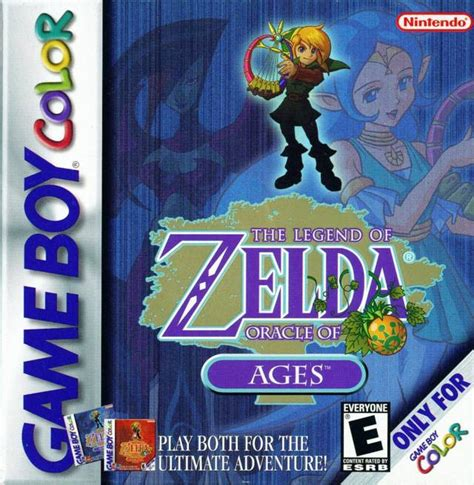 Emuparadise Oracle Of Ages | legend of zelda the oracle of ages usa rom