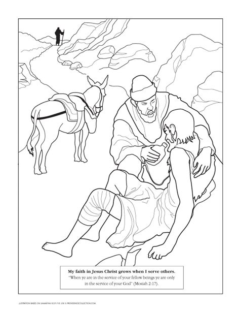 Coloring Good Page Samaritan 171 Free Coloring Pages Samaritan Coloring Page