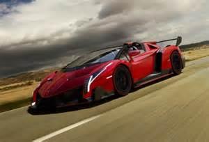 Lamborghini Veneno On Road Lamborghini Veneno Roadster Road Insanity