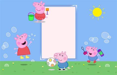Peppa Pig Birthday Party Invitation Template Free Peppa Pig Invitation Template
