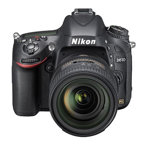 nikon d610 dslr camera with nikon af s nikkor 24 85mm f 3