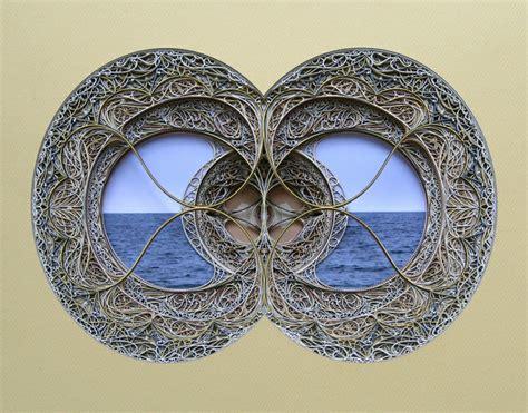 kunst aus papier moderne kunst aus papier durch laser cut technik