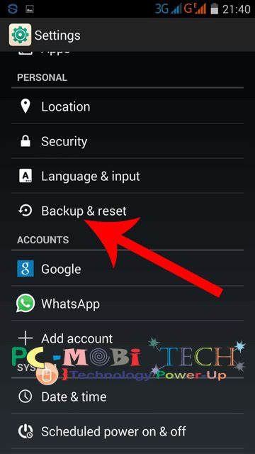 reset android phone without losing apps how securely reset android smartphone without losing data
